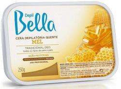 Depil Bella cera quente em barra mel 250g