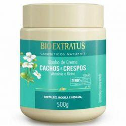 Bio extratus mascara de tartamento cachos e crespos - 500 ml